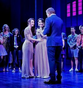 Well that's a first: Broadway show ends in real-life same-sex wedding
