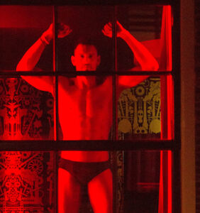 Amsterdam is displaying male sex workers in its red light district windows for this important cause