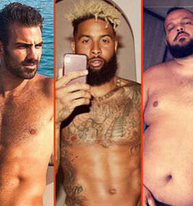 Odell Beckham Jr.'s handful, Matteo Lane's white briefs, & Neil Patrick Harris' new 'stache