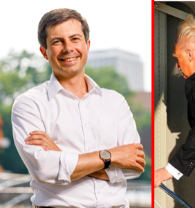 Pete Buttigieg on Donald Trump fat-shaming one of his own supporters: 'People in glass houses…'