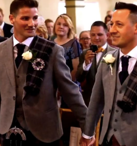This Christian reality show just featured its first-ever gay wedding and homophobes are freaking out