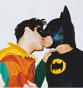 There are new developments in the 'Are Batman & Robin gay?' debate