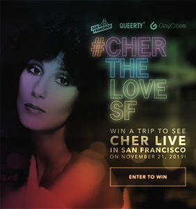 Enter our new contest for the chance to see Cher perform live!