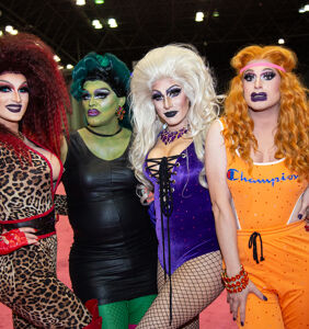 PHOTOS: RuPaul's DragCon Day 1–Elizabeth Warren sends her love