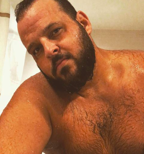 Daniel Franzese has something to say to people who don't think bigger guys can be sexy