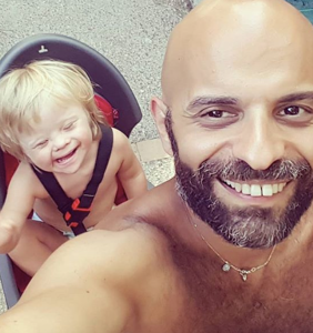 This single gay dad adopted a baby girl with Down syndrome after she was rejected by 20 families