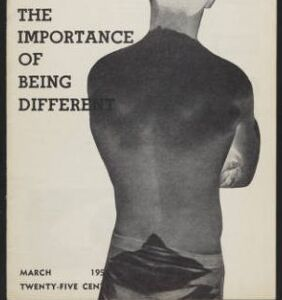 Conform or reform? This seminal gay rights magazine sparked the debate in 1954