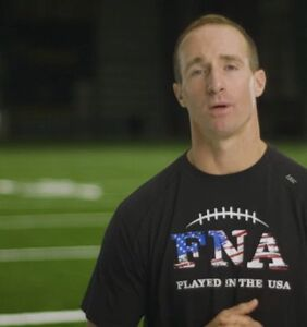 Fans are freaking out over NFL star Drew Brees partnering with antigay hate group