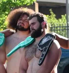 WATCH: These burly NFL players bared it all for ESPN and nobody is complaining