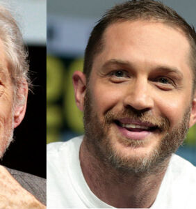Ian McKellen's thowback pic with young Tom Hardy brings 'daddy' and 'twink' to mind
