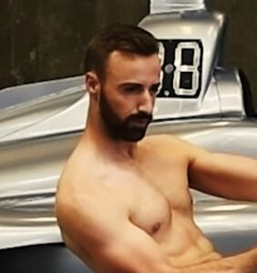 Watch: Pro racer James Hinchcliffe removes allll his gear for ESPN Body Issue