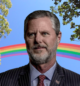 Can we talk about all the gay culture happening on Jerry Falwell Jr.'s Instagram page?