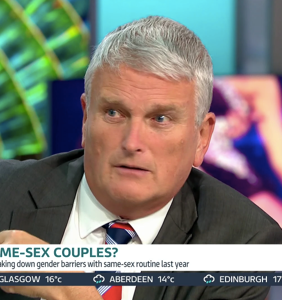 This politician doesn't think gay people should be shown on television before 9PM