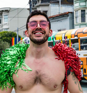 Wanna check out guys in sexy Santa Skivvies while raising money to fight HIV? Here's how…