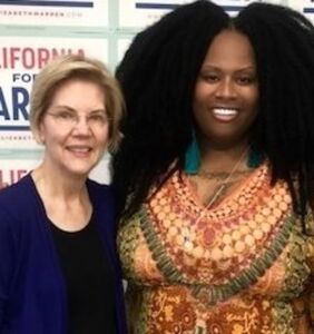 Trans activist Ashlee Marie Preston, Elizabeth Warren surrogate, under fire for past tweets