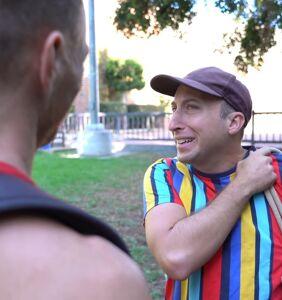 Michael Henry and Matt Wilkas break down 'the gay hello' in hilarious video