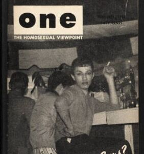 Maybe it's no coincidence the gay rights movement started in a bar