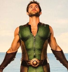 Chace Crawford received 'a lot of weird DMs' after posing for revealing photo in green wetsuit