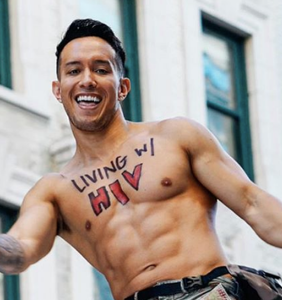 Raif Derrazi responded to his HIV diagnosis by hitting the gym, hard