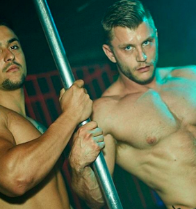 These clubs are known for the go-go boys, and we have photographic evidence
