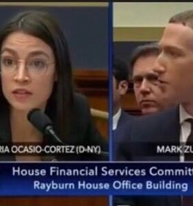 AOC's interrogation of Mark Zuckerberg makes it to adult site's 'femdom humiliation' audience