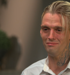 "Aaron Carter's tattoo artist says singer wanted entire face covered in ink but ""I just couldn't"""