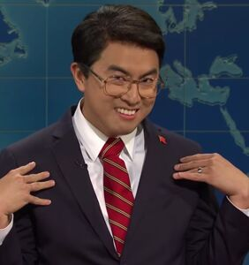 """WATCH: Bowen Yang's Chinese """"trade daddy"""" a home run on SNL"""