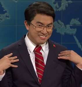 "WATCH: Bowen Yang's Chinese ""trade daddy"" a home run on SNL"