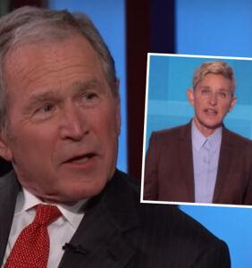 George W. Bush responds to Ellen DeGeneres' comments