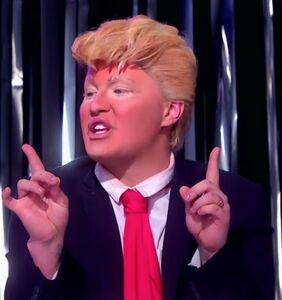 WATCH: People are losing it over this 'Drag Race UK' contestant's Donald Trump impression