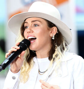 Miley Cyrus left her church when she witnessed it harming gay people