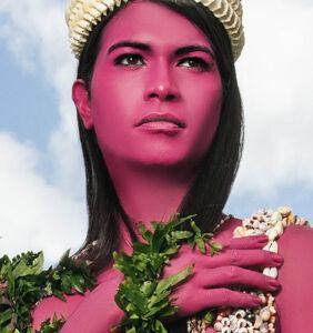 Tahiti's 'third gender' take center stage in vivid London exhibition