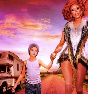 Here's your first look at RuPaul's new scripted Netflix series