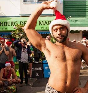 Here is a list of Santa Speedo Run events (and some sexy pics, of course)