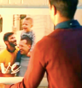 Holiday ad campaigns increasingly include matter-of-fact queer references