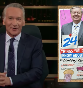 Bill Maher shares passé list of stereotypes about gay people to attack Lindsey Graham