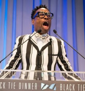 Billy Porter has 'rage of a velociraptor,' stuns crowd in Dallas