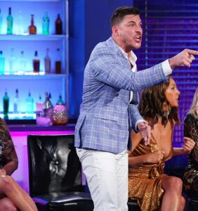"Homophobic reality star Jax Taylor outs co-star on live TV, says ""Just own it!"""