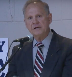 Roy Moore calls for a return to 'moral' times, before same-sex marriage