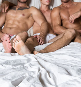 Gay guys offer rules for a couple's first threesome