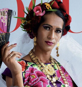 Vogue Mexico makes history with third-gender cover star