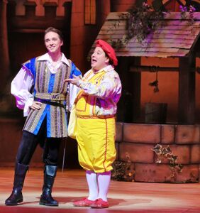 Garret Clayton & Jared Gertner don their gay holiday apparel in 'A Snow White Christmas'