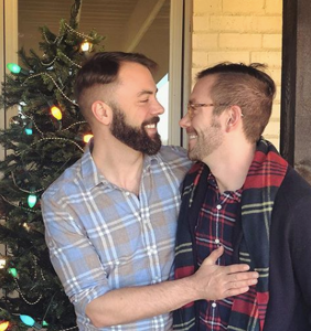 """Kit Williamson is giving the """"gospel of gay"""" during the holiday season"""