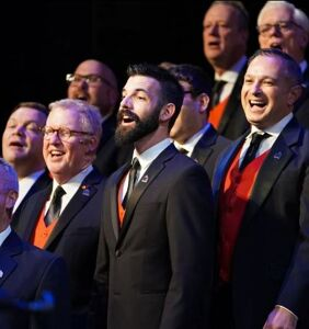 Christmas is being invaded by gay chorus singers and we have the proof