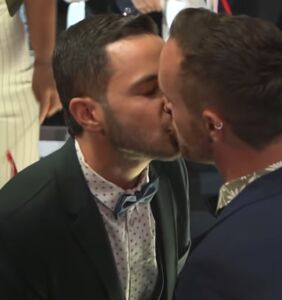 Gay couple uses legal loophole to get married