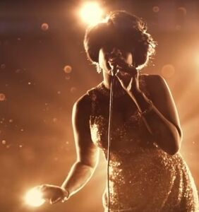 WATCH: Our first look (and listen) at J-Hud as Aretha Franklin