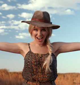 Tourism Australia recruits Kylie Minogue to sing in lavish new commercial