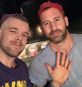 Russell Tovey and Steve Brockman cozy up in sweet Instagram post