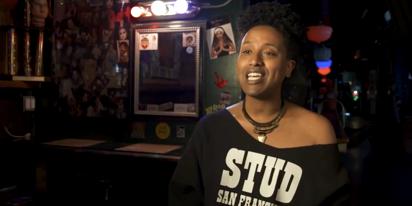 WATCH: Drag Race star Honey Mahogany on saving San Francisco's legendary Stud