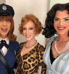 "PHOTOS: Kathy Griffin appears with all-star drag cast of ""Women Behind Bars"""